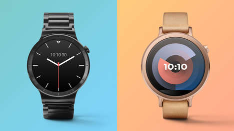 Customizable Digital Watch Faces - The Ustwo Face Maker Personalizes the Aesthetic of the Timepiece