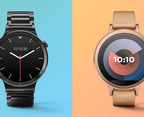 Customizable Digital Watch Faces