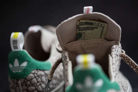 Celebratory Hemp Sneakers - The BAIT Adidas Stan Smith are Made Using Cannabis to Commemorate 4/20