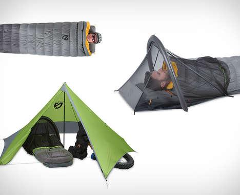 Cyclist Camping Kits