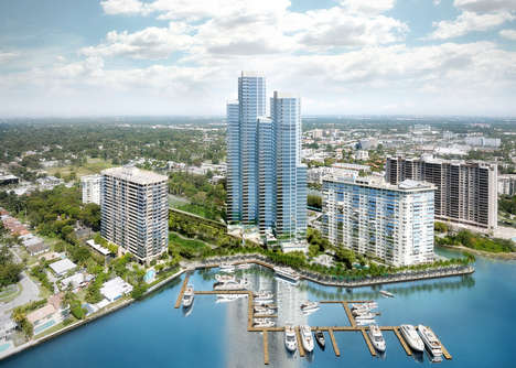 Revitalised Waterfront Condos - The Apeiron Towers Offer a Luxe Redesign to Suit Views of the Marina