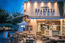Charming Eatery Renovations - This Heraklion City Restaurant Recently Completed Renovations