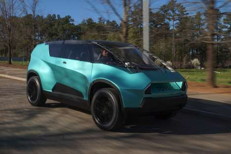 Gen Z-Targeted Concept Cars - The Toyota 'uBox' Passenger Vehicle Features an Unexpected Design