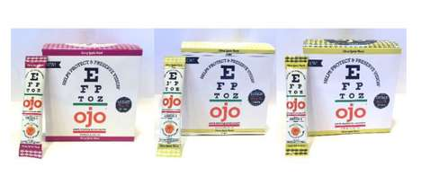 Crystal Eyecare Drinks - OJO's Dissolving Eye Care Crystals Promote Good Eye Health