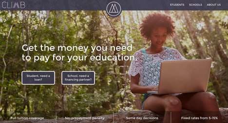 Alternative Student Lending Services - 'Climb Credit' is Working to Change the Student Lending Model