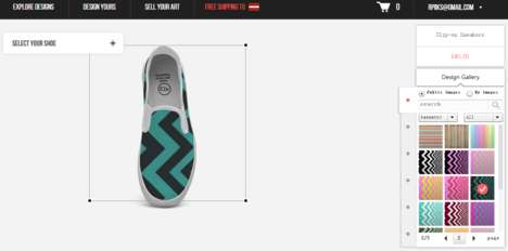 Custom Sneaker Platforms - Idxshoes Allows You to Upload Any Art on Your Sneakers