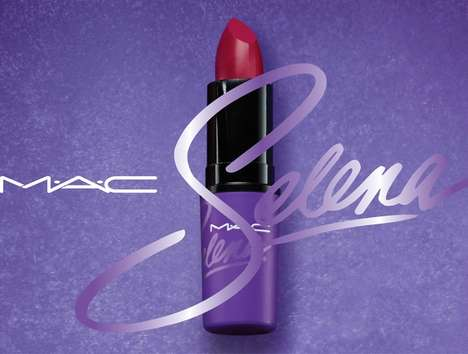 Tribute-Paying Makeup Collections - The MAC x Selena Collection Pays Tribute to the Late Singer