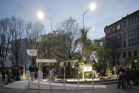 Urban Island Pop-Ups - Tommy Hilfiger Created a Pop-Up Island in Milan's Tortona District