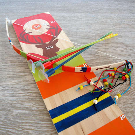 DIY Archery Kits - Seedling's Adventurous Toy Set Lets Kids Design Their Own Bow and Arrow