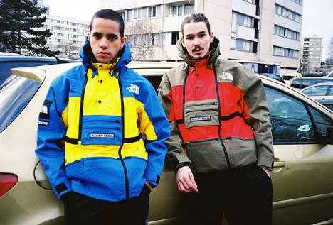Urban Outerwear Collaborations - The Supreme x North Face Collection Merges The Brands' Aesthetics