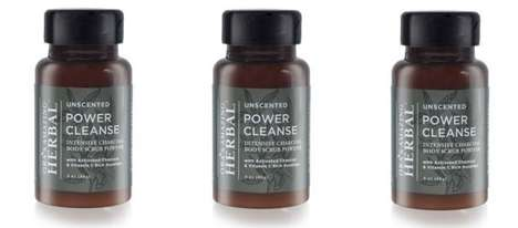 Powdered Charcoal Cleansers - The Oras Power Scrub Releases Impurities With Activated Charcoal