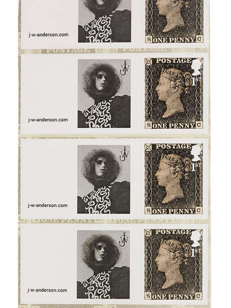 Postage Stamp Fashion Campaigns - The Latest J.W. Anderson Ad Resembles Postal Signage