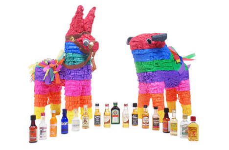 Boozy Adult Piñatas - The Nipyatas Are Filled with Mini Bottles of Alcohol Instead of Candy