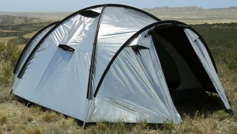 Lightweight Heat-Blocking Tents - The Siesta4 is a Tent That Stays Cool and Dark in Direct Sunlight