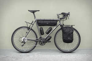 The Chacha Customizable Bike Features Accessories Geared to Exploration