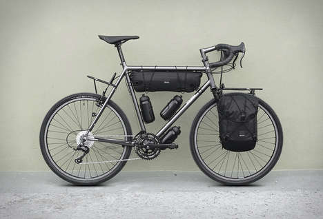 Tour-Oriented Bicycles - The Chacha Customizable Bike Features Accessories Geared to Exploration