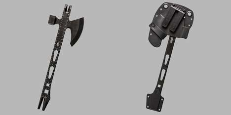 Operational Measuring Axes - The 5.11 VTAC Tactical Tool Combines a Hammer, Ruler and an Axe