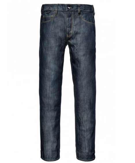 Tearproof Utilitarian Denim - The Unbreakable Jean by Saint is Made with Triple Stitched Material