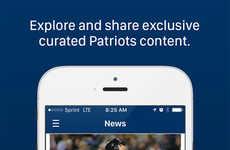 Fan-Rewarding Baseball Apps - The New Somerset Patriots App Rewards Fans For Social Media Activity