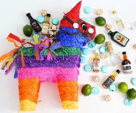 Liquor-Filled Pinatas - The 'Nipayata!' Party Pinata Comes Packed with Mini Bottles of Booze