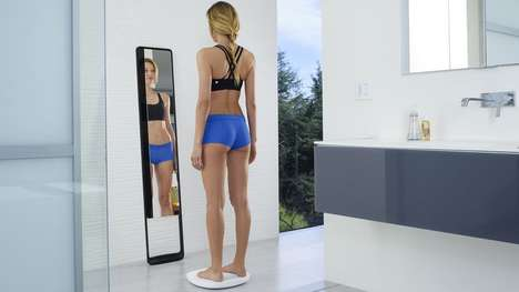 Fitness-Tracking Mirrors - The Naked 3D Fitness Tracker Helps Users Visualize Body Changes