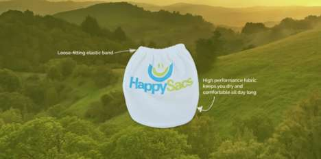 Supportive Male Undergarments - The 'HappySac' Helps Reduce Jock Itch and Maintain Comfort
