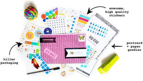 Monthly Sticker Subscriptions - Pipsticks Offers New Sticker Designs to Subscribers Each Month