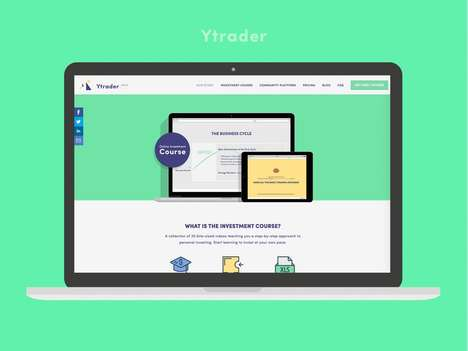 Millennial Investment Guides - The 'Ytrader' Platform Teaches Millennials How to Invest and Save