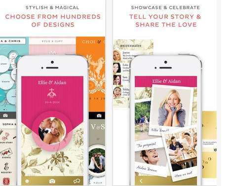 All-Encompassing Wedding Apps - Appy Couple Helps Users Plan Every Aspect of Their Big Day