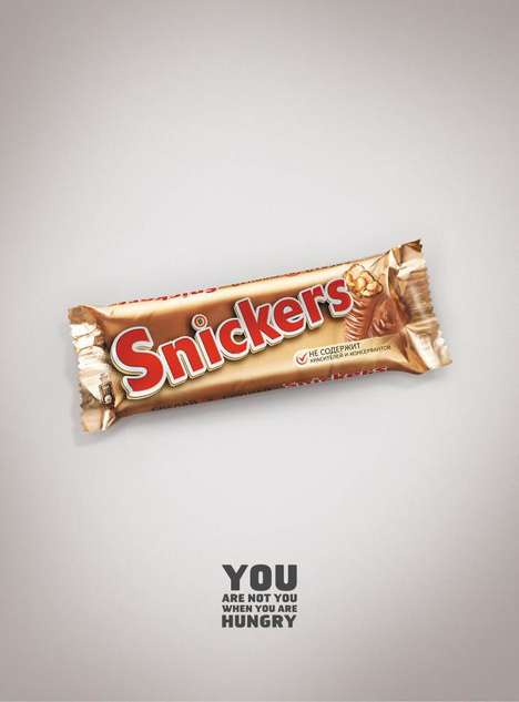 Chocolate Impostor Ads - These Ads Dress the Snickers Bar as Other Chocolate Snacks
