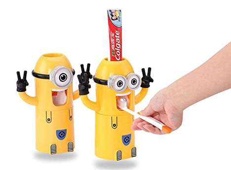 Kid-Friendly Toothpaste Dispensers - These Novelty Oral Care Accessories are Inspired by The Minions