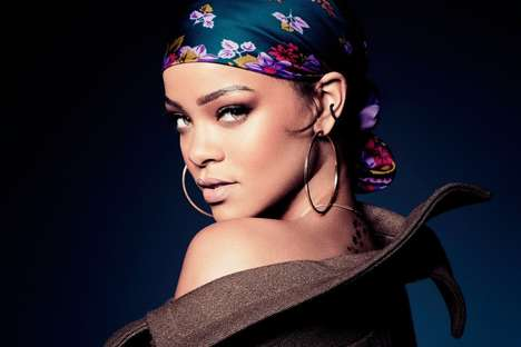 Songstress Beauty Lines - Rihanna is Teaming with LVMH to Create a Full Range of Cosmetic Products