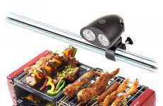 LED Grilling Flashlights - The Kohree BBQ Light is Installed Easily to Keep an Eye on Cooking