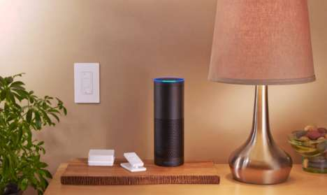 Voice-Controlled Lighting Systems - Lutron's Caseta Can Be Commanded Through Amazon Echo's Alexa