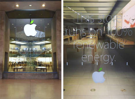 Earth Day Retail Makeovers - The Apple Earth Day 2016 Celebrations Include Green Uniforms