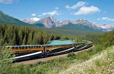 360-Degree Train Tours - Rocky Mountaineer's Virtual Reality Train Tour Showcases the Rockies