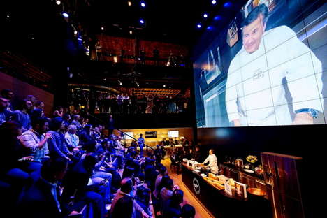 VR Cooking Shows - The 360° Meals at Samsung Series Combines Gourmet Food with VR Technology