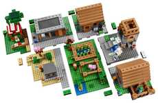 Virtual World Building Blocks - The Minecraft LEGO Set Brings the Blocky Digital World to Real Life