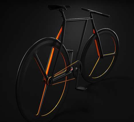 Reduced Spoke Bicycles - Ion Lucien's Conceptual Bike Opts