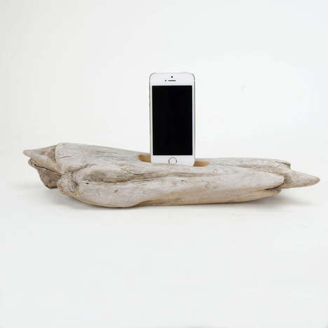 Naturalistic Tree Tablet Stands - The Dock Smith Branch Device Stands Blend Nature with Technology