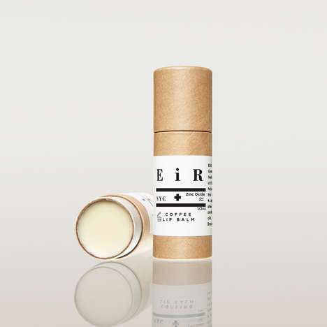 Caffeinated Lip Balms - EiR NYC's Natural Lip Moisturizes is Infused With Energizing Coffee Oil