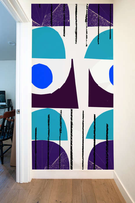 Graphic Wall Panels - Neasden Control Centre Teams Up with Blik for Giant Artistic Decals