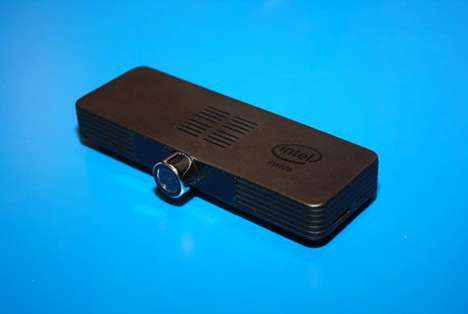 Connected Computing Sticks - The New Intel Compute Stick Can Be Hooked Up to a Big Screen
