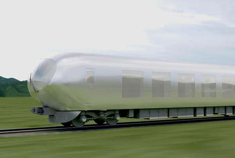 Invisible Urban Trains - The Sanaa Train by Seibu Railway Company is Designed Using Reflective Glass