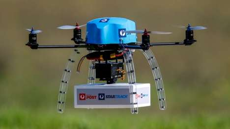 Rural Mail Drone Deliveries - Australia Post Deliveries are Being Trialled with Drone Technology