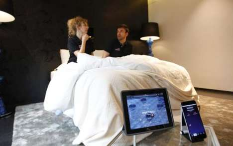 Adultery-Detecting Mattresses - The Smarttress Boasts Sensors to Detect Vigorous Rhythmic Motions