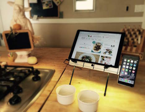 Ergonomic Device Stands - The 'X STAND' Adjustable Laptop Stand Works with Multiple Devices