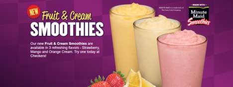 Sweet Seasonal Drink Menus - These Sweet Summer Drinks are Made for Warmer Temperatures