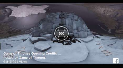 Immersive Fantasy TV Intros - This Game of Thrones Intro Lets Fans Explore Westeros in 360 Degrees