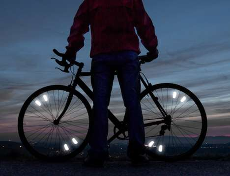 Aerodynamic Bike Reflectors - The 'FLECTR' Bicycle Reflector is Designed with Style and Function